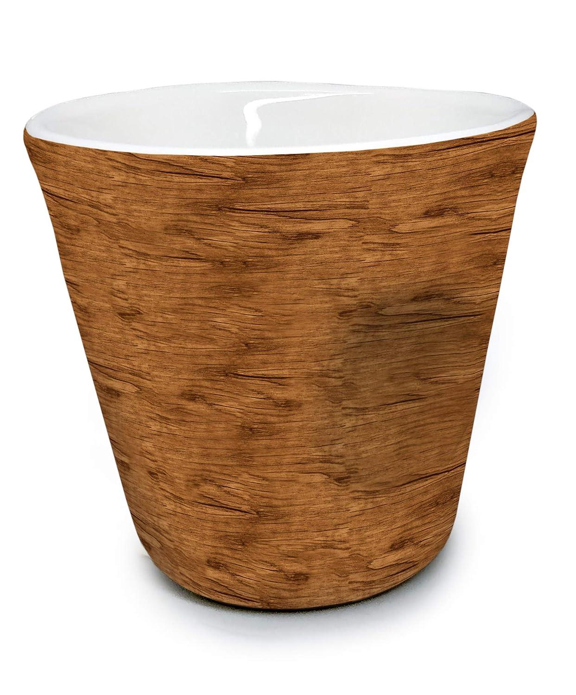 Vin Bouquet FIH 417 Tasse /à Expresso Porcelaine 100 ml Bois