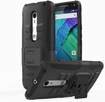 MoKo Moto X Style Funda - Cuerpo Resistente Cubierta Smartphone ...