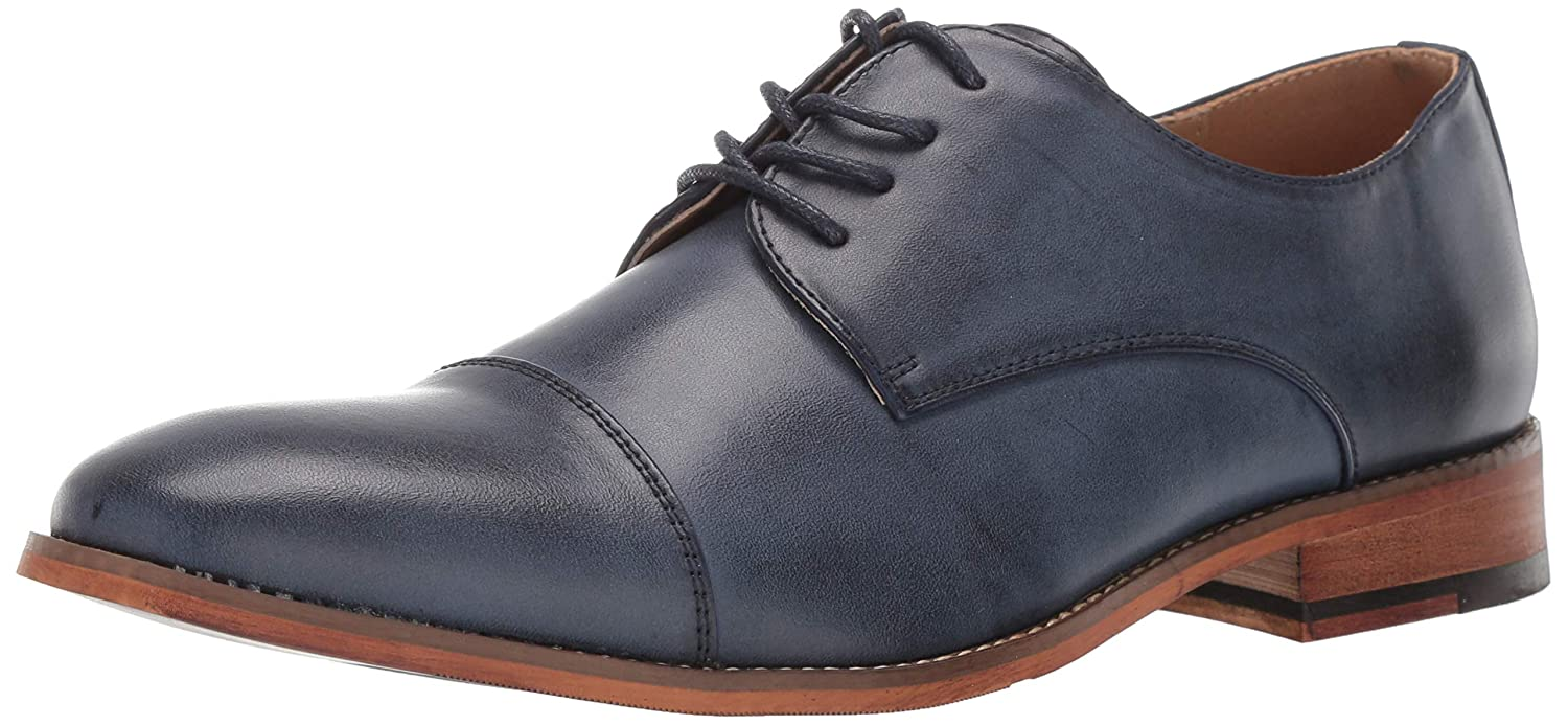 Kenneth Cole REACTION Mens Blake Cap Toe Lace Up Shoe