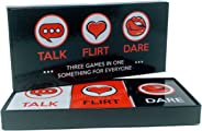 ARTAGIA Fun and Romantic Game for Couples: Date Night Box Set with Conversation Starters, Flirty Games and Cool Dares - Choos