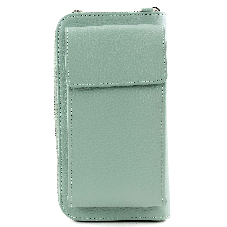 Italiensk damplånbok handväska väska pengar handväska plånbok pengar X 685815 grönt ljus