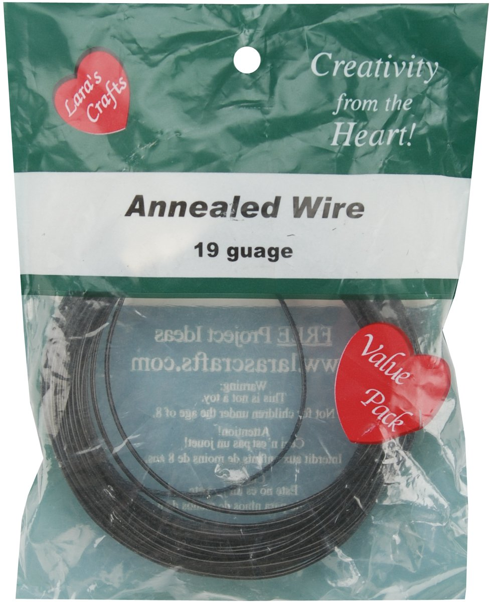 Amazon.com: New Image Group 19-Gauge Annealed Wire, 50-Feet