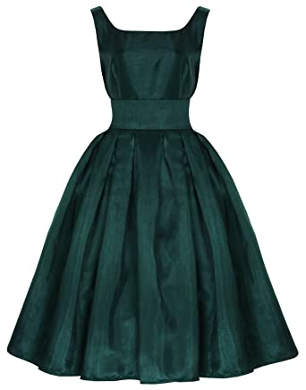 Lindy Bop Lana Classic Elegant Vintage 1950s Prom Dress Ball Gown (18,