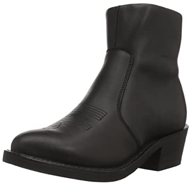 d44f811e181 Durango Black Side Zip Western Boot