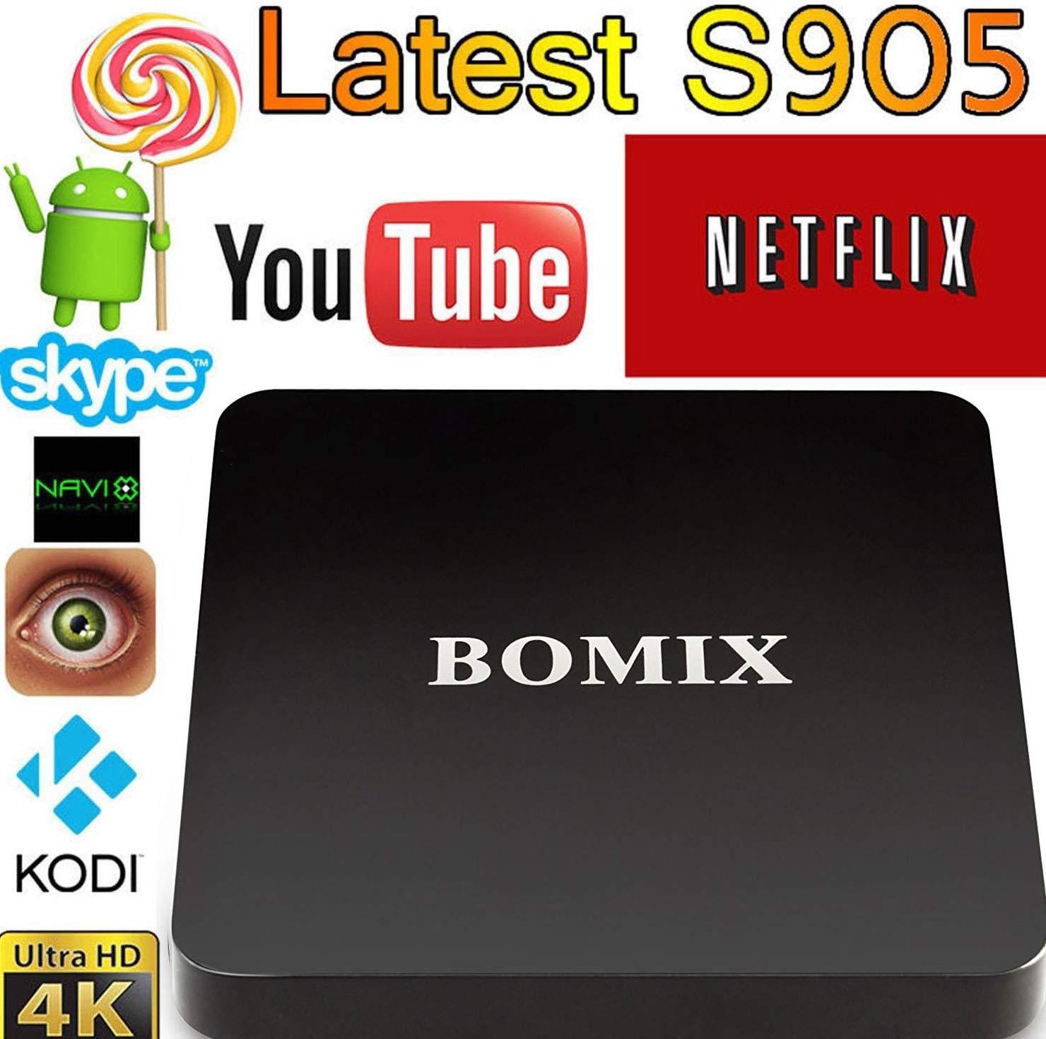 MXQ Pro Game Pad mxq15 [2018 MODEL] KD V17.4 MXQ PRO Android 6.0 TV BOX 4K/64Bit/1+8GB/2.4G/5G Wifi/UHD 4K/Full HD/H.265