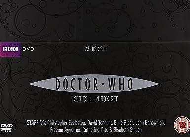 Doctor Who - Complete Series 1-4 Box Set Reino Unido DVD: Amazon ...
