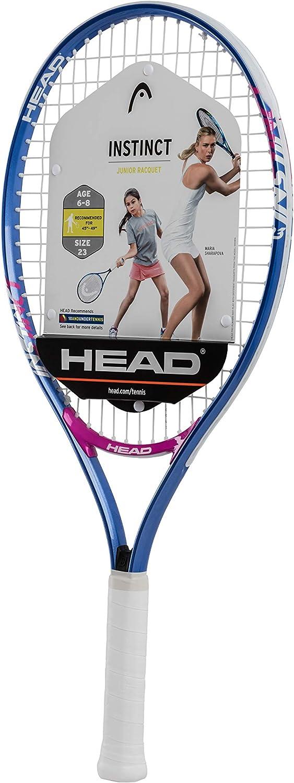 HEAD Instinct Kids Tennis Racquet - Beginners Pre-Strung Head Light Balance Jr Racket - 25