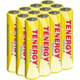 Tenergy Solla AAA Rechargeable NiMH Battery, 600mAh Solar Batteries for Outdoor Solar Lights, Outdoor Patio Lights, Anti…