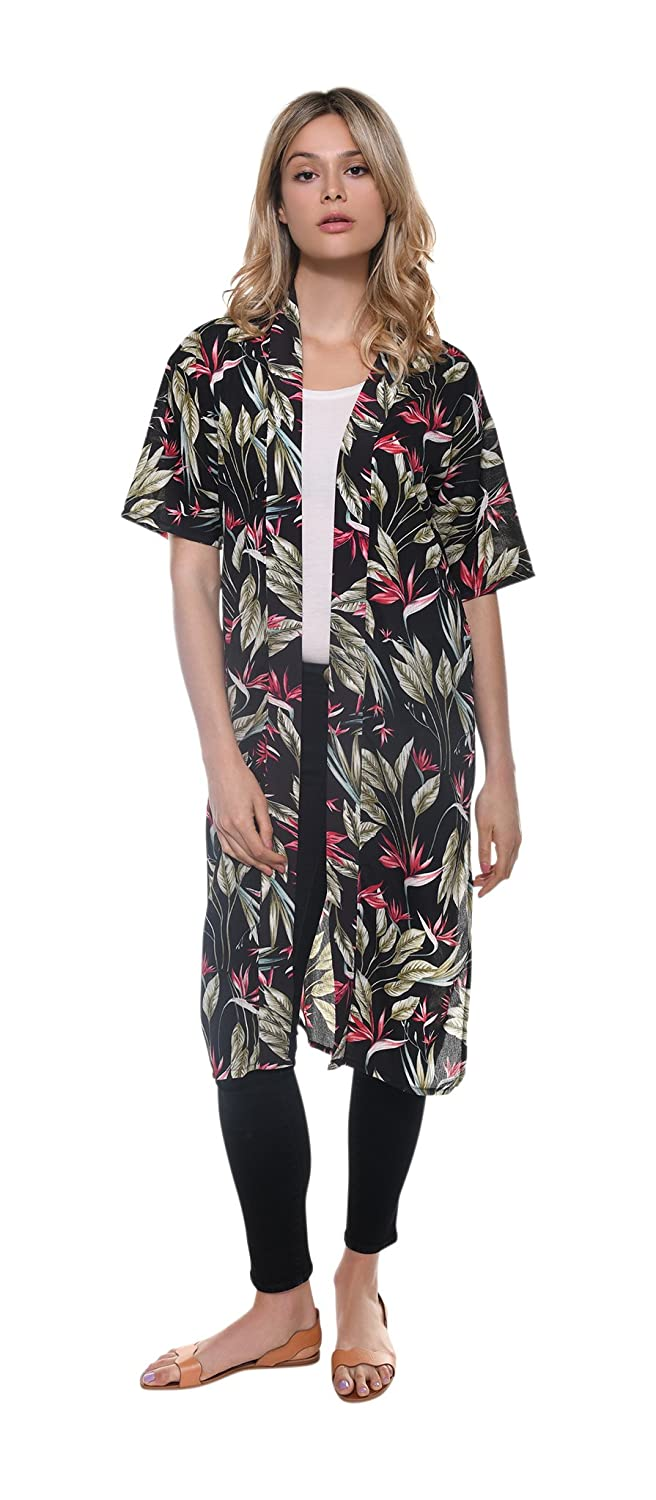 0352a33c55c90 This stylish kimono is made for every season and any occasion- beach,  resort, vacation, night out, casual day, etc. Perfect with any outfit!