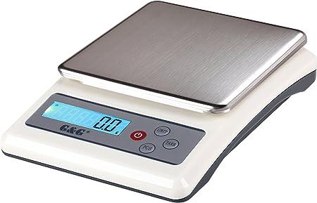 Balance de cuisine Balance Lettre Balance balance balance numérique Balance Blanc Digital 8 kg//1g Tara