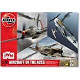 Airfix 1:72 Aircraft Of The Aces Military Aircraft Gift Set