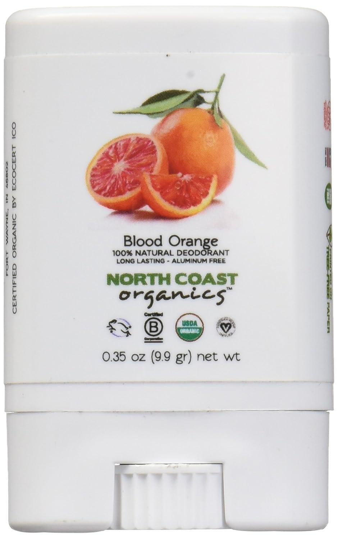 North Coast Organics 2005 Blood orange organic deodorant, 0.35 Ounce