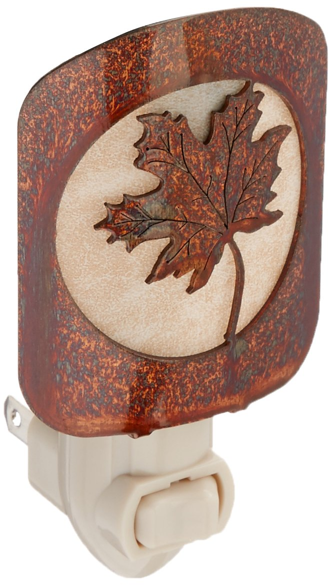 Thirstystone BNLMLHP LAZ NL Maple Leaf Nightlight HP, Honey Pinion