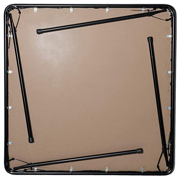 XL Series Square Folding Card Table (38