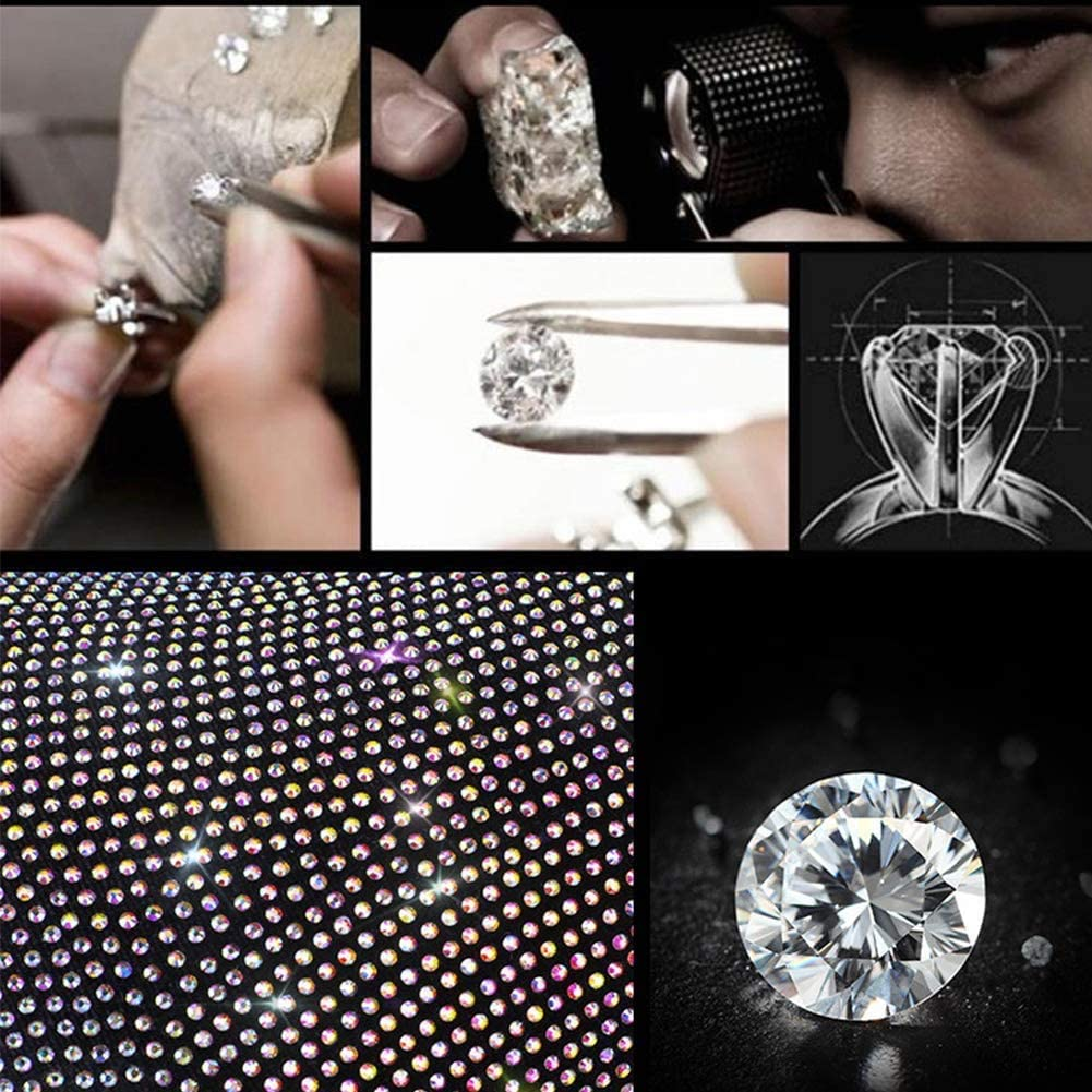 Luster Crystal Car Knob Gear Stick Protector Diamond Car Decor Accessories for Women ToBeQueen Bling Auto Shift Gear Cover