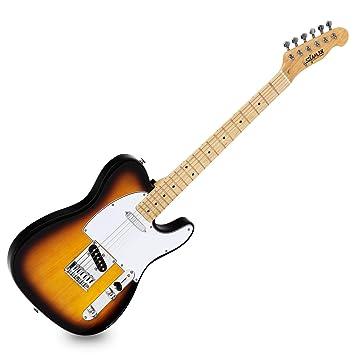 Guitarra Eléctrica Shaman Element Series TCX-100VS Tosdada vintage: Amazon.es: Instrumentos musicales