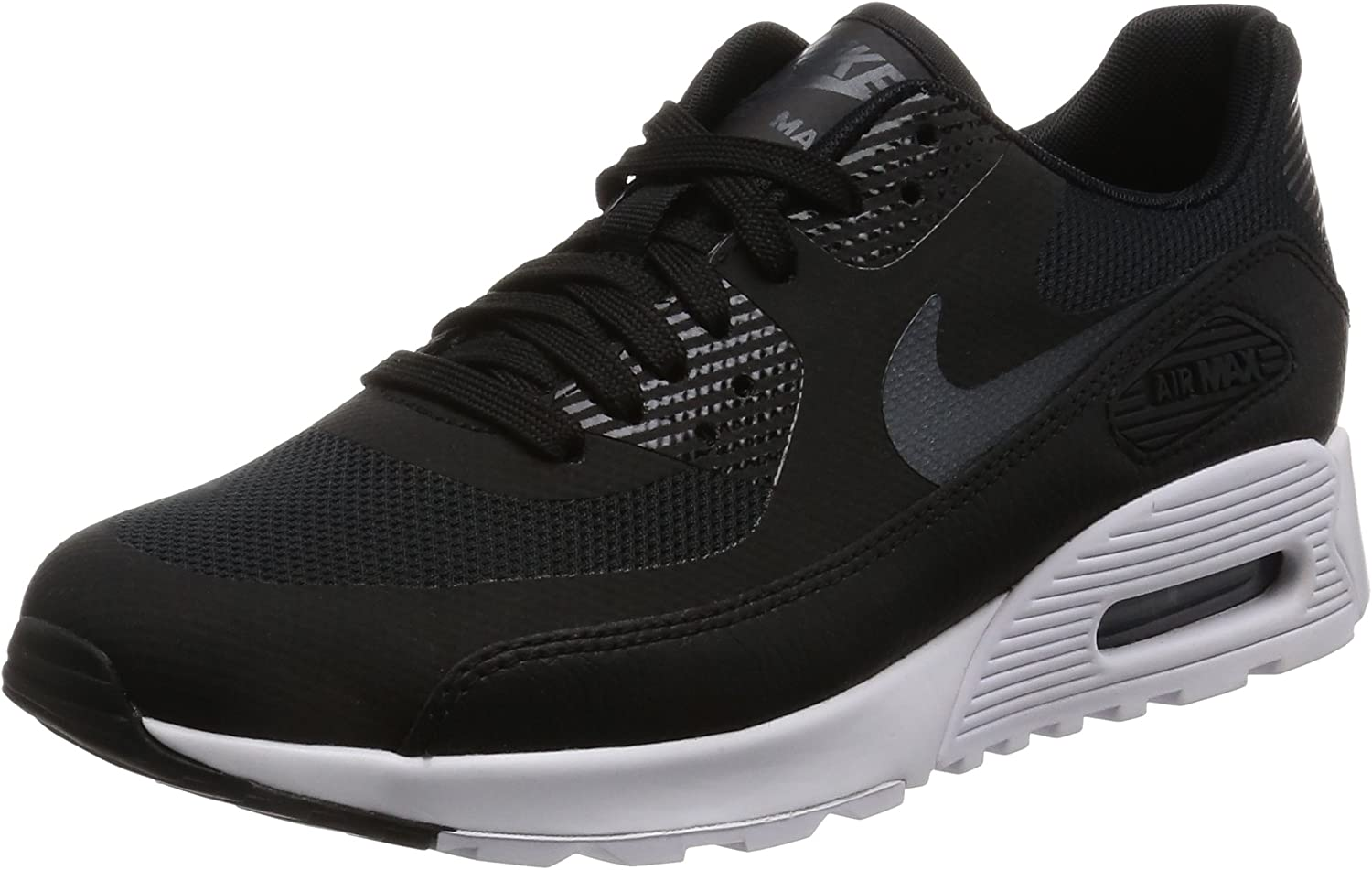 Details about Womens NIKE AIR MAX 90 ULTRA 2.0 Black Trainers 881106 002