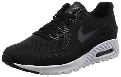 huge selection of 559bb f6471 Nike Womens Air Max 90 Ultra 2.0 Black MTLC Hematite Wht Running Shoe 6.5