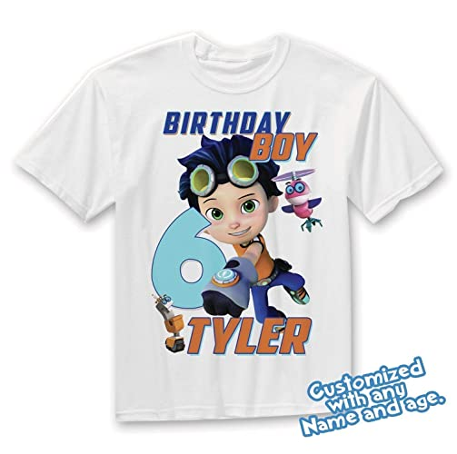 e2b007f8e Image Unavailable. Image not available for. Color: Rusty Rivets Birthday  Shirt Add Name & Age Rusty Custom ...