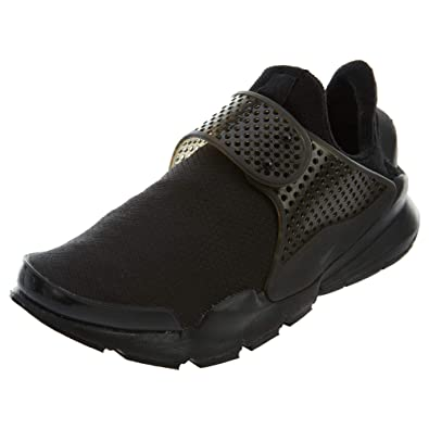 big sale 7b22a ae14c Nike Womens Sock Dart SE Running Trainers 862412 Sneakers Shoes (US 9,  Black Black Volt 004)