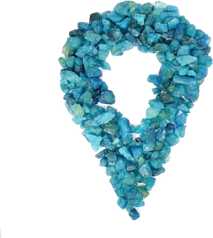 Trozos de aguamarina en bruto 1 LB - Minerales al por mayor Piedras preciosas lapidarias para cabping, volteo, envoltura de alambre