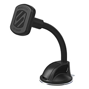SCOSCHE MTHD2 MagicMount XL Universal Magnetic Phone/GPS/Tablet Suction Cup Mount for The Car, Home or Office