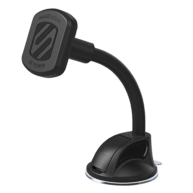 b772c67704731 Image Unavailable. Image not available for. Color  SCOSCHE MAGTHD2  MagicMount XL Universal Magnetic Phone GPS Tablet Suction Cup Mount ...