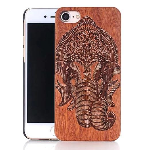 13 opinioni per Vandot Moda Ultra Sottile Vero legno Naturale Bambu Carving Pattern Wood Hard