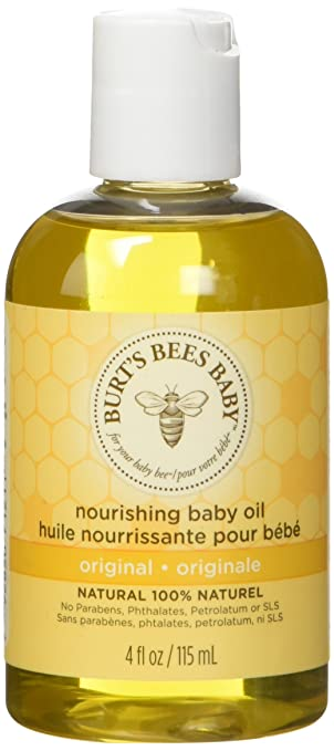 Burt's Bees Baby Oil, One 4oz Bottle