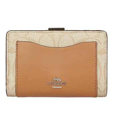 10e82e0003d5 Amazon | [コーチ] COACH 財布 (二つ折り財布) F27147 ライトカーキ ...