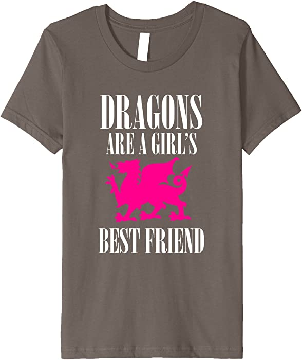 bbe21e20d Dragons are a Girl's Best Friend T-Shirt Women Kids Humor. Back. Double-tap  to zoom