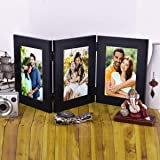 Photo Wala Photo Frame Set For Table, Cuple, Friends, Gift, Decoration (Set Of 3 Black)