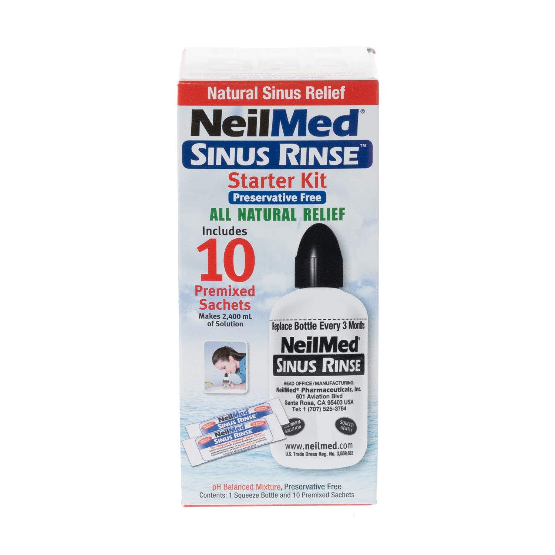 NeilMed Sinus Rinse Starter Kit with 15 Sachets