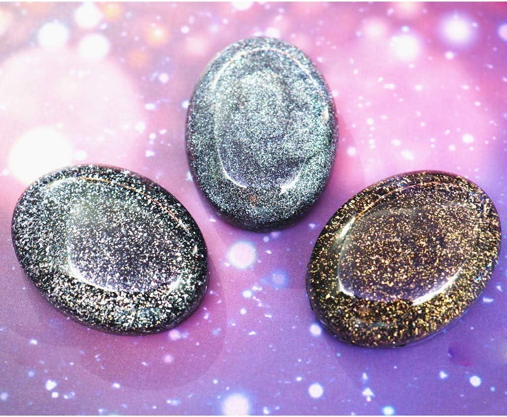 Lhuaguo R/ésine magique teinture suspendue effet AB poudre de mica pigments de perles r/ésine bijoux bricolage