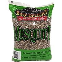 Mesquite Flavor BBQR's Delight Smoking BBQ Pellets 20 Pounds