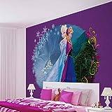 Papier Peint Photo Mural 834VEXL - Collection Disney La Reine des Neiges - XL - 208cm x 146cm - 2 Part(s) - Imprimé sur 130g/m2 papier intissé EasyInstall