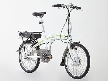 Greenway plegable bicicleta eléctrica, Samsung Celdas de litio recargable LCD, sistema de pas