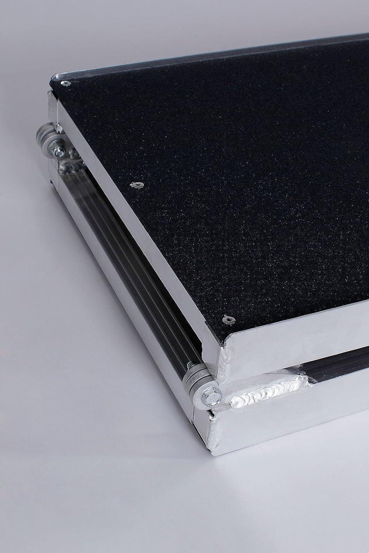 Plegable para Perros Dibea Rampa Coche de Aluminio