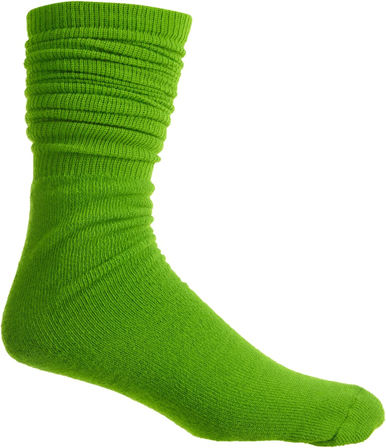 Wear The Pear All Sport Socks Mens Style One Size for All ASNGAD-Lime Size