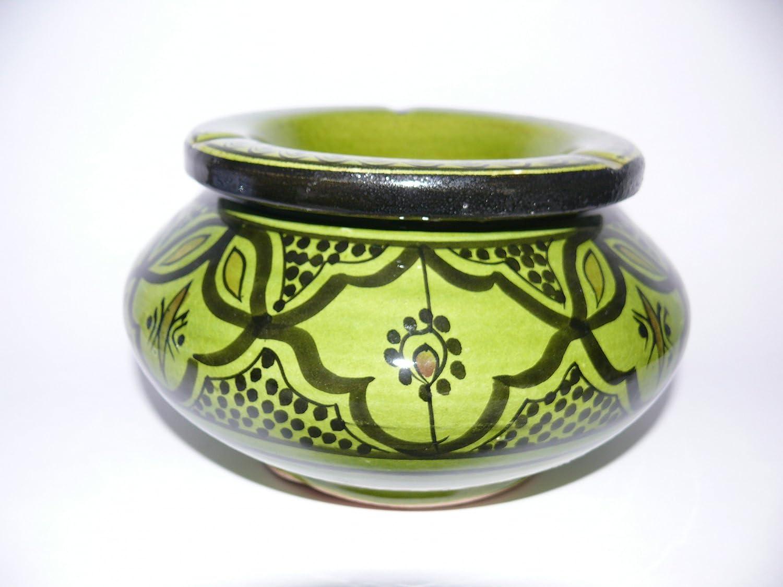 Marokkanischer Aschenbecher Keramik Windascher Orient Ø 20 cm