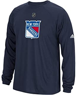c96e5446b adidas New York Rangers NHL Primary Position Climalite Long Sleeve T-Shirt