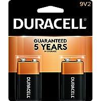 Duracell Batteries 9 Volt 2 pack Case Pack 4