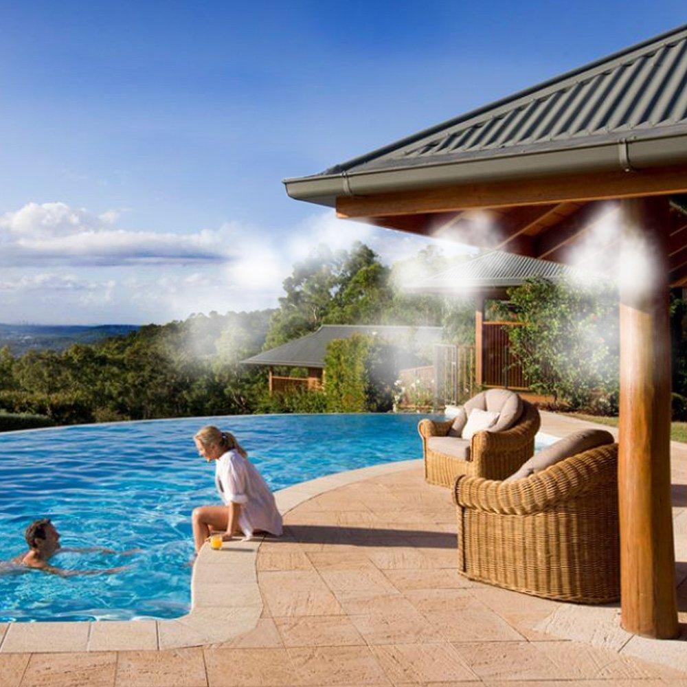 HOMEGARDEN Impianto nebulizzatori per gazebo e terrazzi refershing kit da giardino