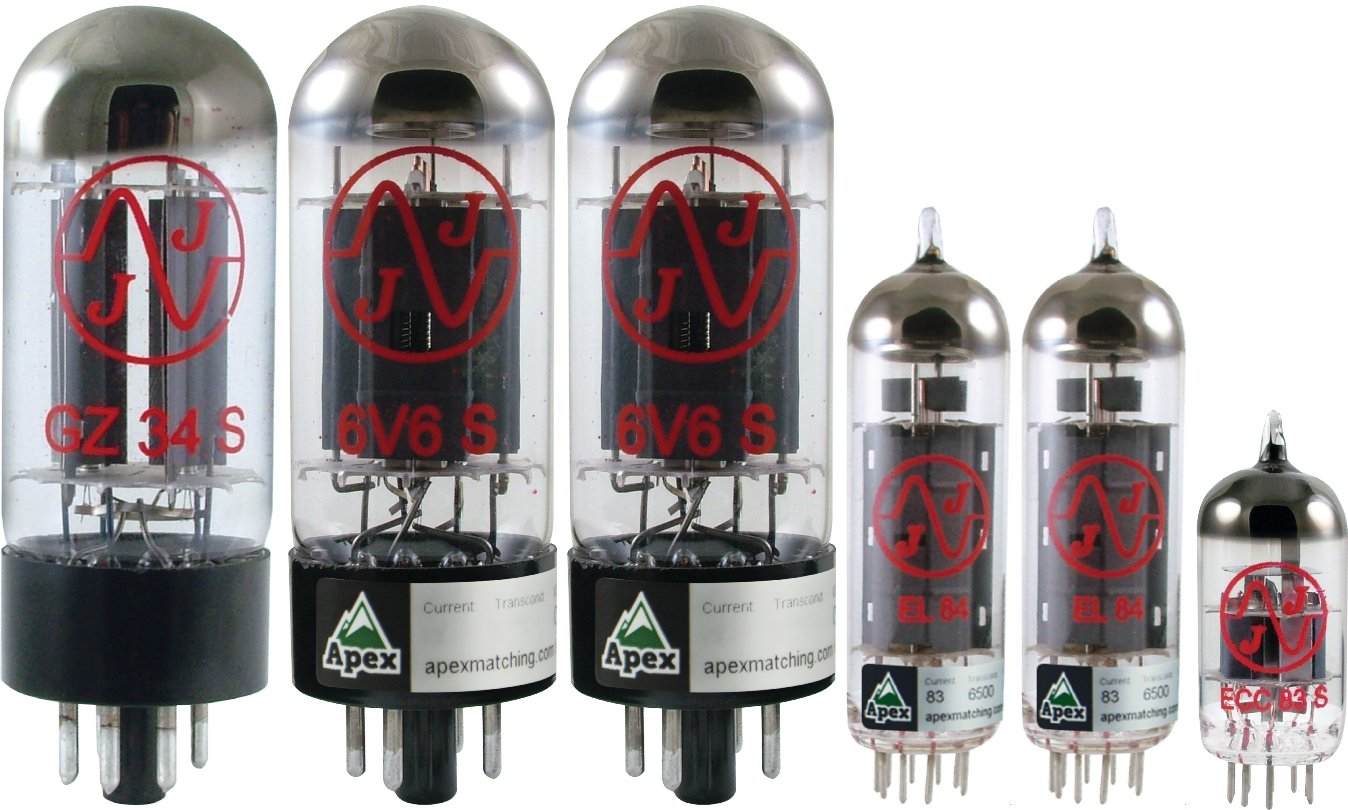Vacuum Tube Set for Divided By 13 JTR 9/15, Apex Matched