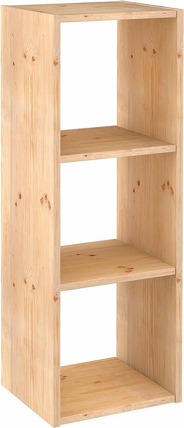 ASTIGARRAGA KIT LINE Estantería modular 3 cubos DINAMIC: Amazon.es ...