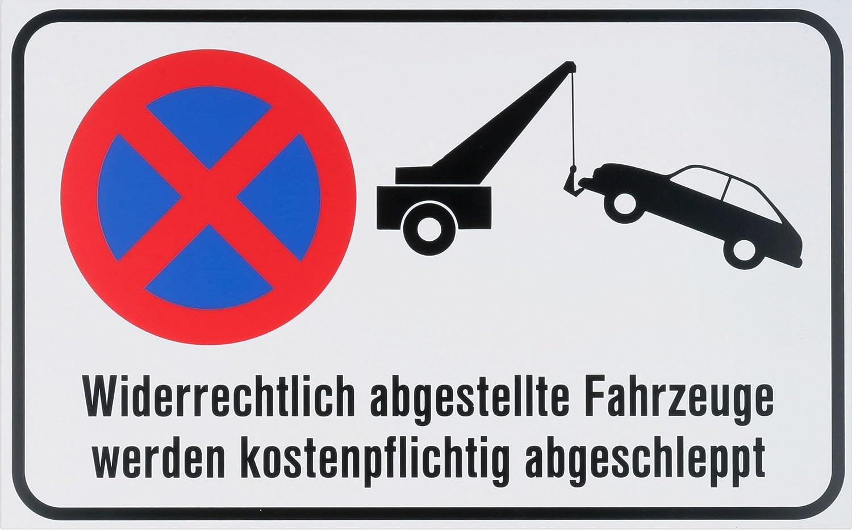 Warnmarkierung Sicherheitsmarkierung Spielstra/ße 501110 Beschilderung Infoschild Warnschild Gefahrenhinweis 400 x 250 mm Metafranc Hinweisschild Achtung spielende Kinder