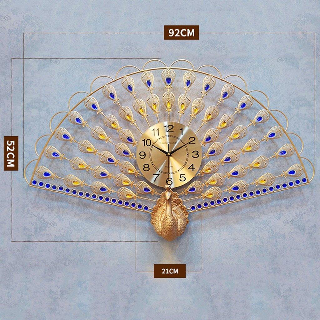 ウォールクロックリビングクリエイティブウォールクロック/ミュートクロックモダンな装飾吊りテーブル (サイズ さいず : 92cm*56cm) B07DPL9KKB 92cm*56cm 92cm*56cm