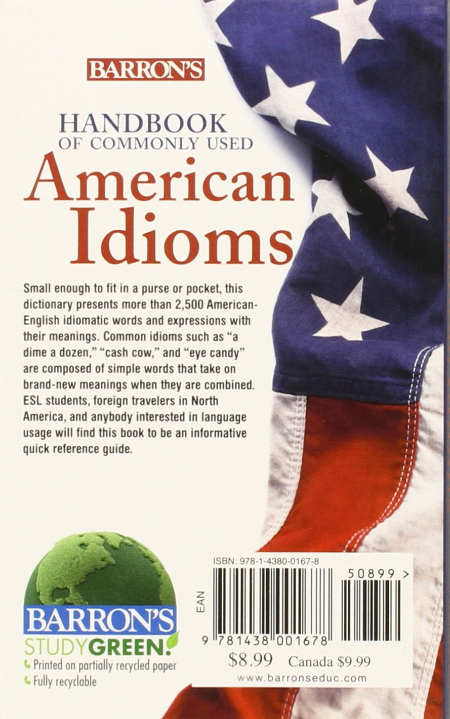Handbook of Commonly Used American Idioms: Adam Makkai, Maxine T. Boatner,  John E. Gates: 9781438001678: Books - Amazon.ca