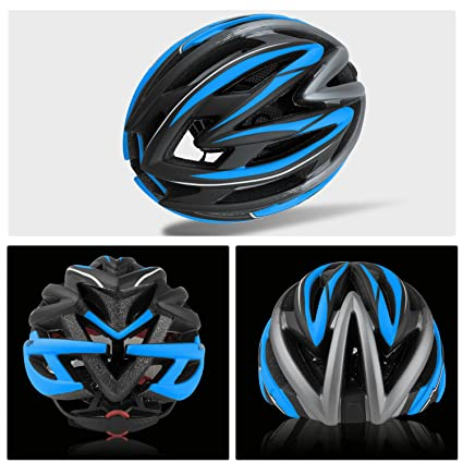 Ciclo cascos, leadfas bicicleta Ciclismo casco con visera gafas magnética desmontable Escudo ajustable Unisex Hombres Mujeres carretera casco de ciclismo de ...
