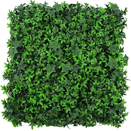 Xiaolin Paneles Artificiales de boj, Plantas Verdes Falsas, Cerco de privacidad Decorativa, jardín, setos, Fondos de Bodas, Fondos de 20